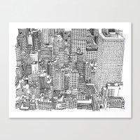 New York View 3 Canvas Print