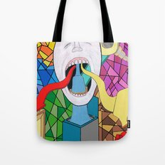 Spitting Out Tote Bag