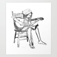 Musical Solitude Art Print