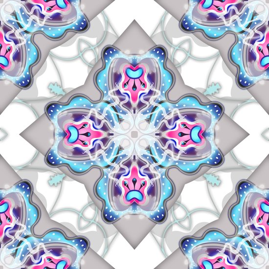 Snow Flower Art Print