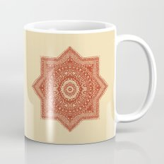 The Red Moroccan Pattern Mug