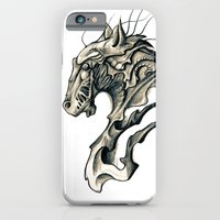 horse iPhone & iPod Cases featuring Horse by Nuam