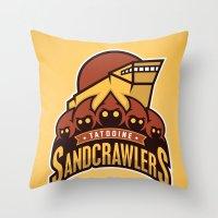 Tatooine SandCrawlers - … Throw Pillow