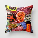 Repus (Abstract) Throw Pillow