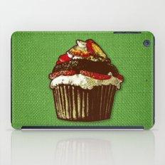 strawberry cake iPad Case
