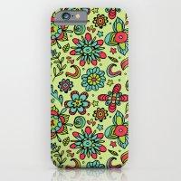 iPhone & iPod Case featuring Flower Power. by Vivi Vasconez