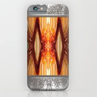 iPhone & iPod Case featuring Intrepid Zigzags by JMcCombie
