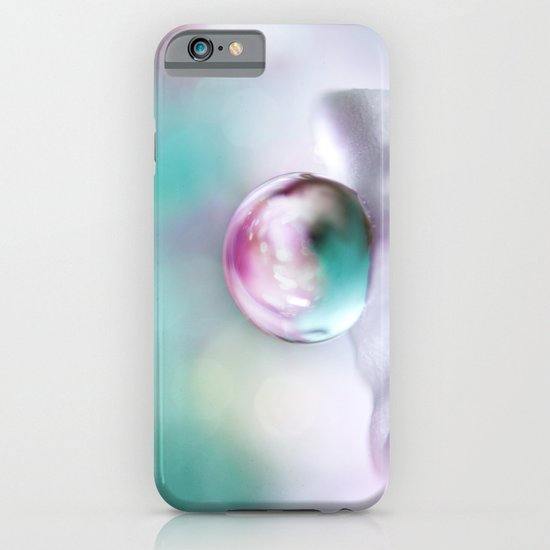 Turquoise Droplet iPhone & iPod Case