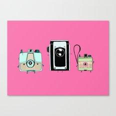 Retro Cameras Canvas Print
