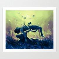 Hannibal Death Scene - M… Art Print