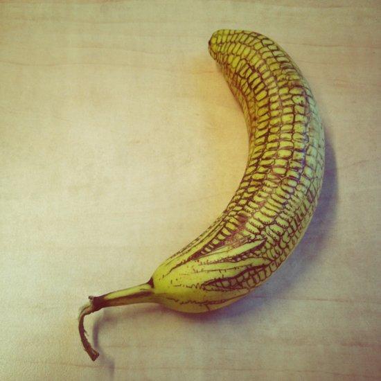 Corny Banana Art Print