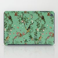 Monkey World Green iPad Case