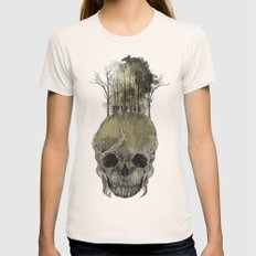 Lost Woods Womens Fitted Tee Natural SMALL
