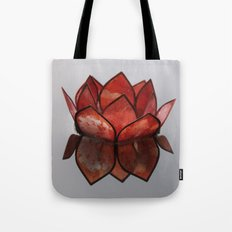 Glass Blossom on Water Tote Bag
