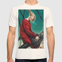 Doof Warrior Mens Fitted Tee Natural SMALL