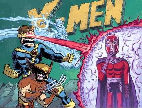 X-Men! Canvas Print