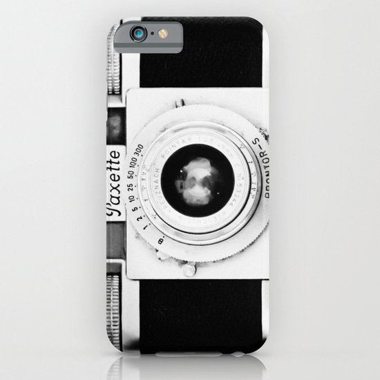 Paxette vintage camera iPhone & iPod Case
