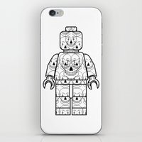 Skull-Brick iPhone & iPod Skin