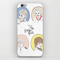 I Heart the Golden Girls Print iPhone & iPod Skin