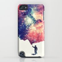 iPod Touch Cases featuring Painting the universe by badbugs_art