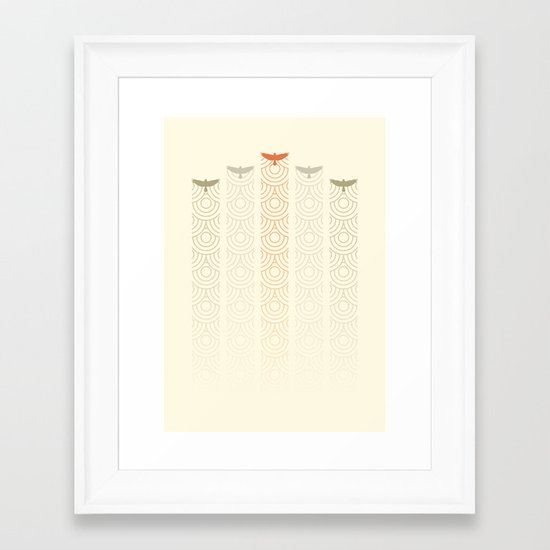 Aerial Display Team Framed Art Print