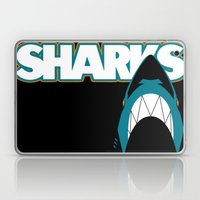 In The Jaws Of The Shark… Laptop & iPad Skin