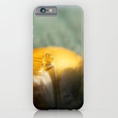 Yellow Feather Drop iPhone 6 Slim Case