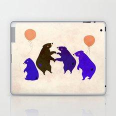 A sleepy bear party Laptop & iPad Skin