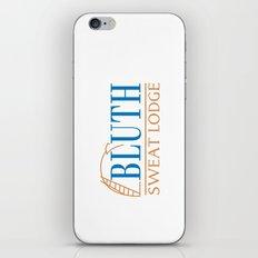 Bluth Sweat Lodge iPhone & iPod Skin