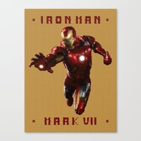 Iron Man MK VII Canvas Print