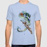 My Chameleon Mens Fitted Tee Athletic Blue SMALL