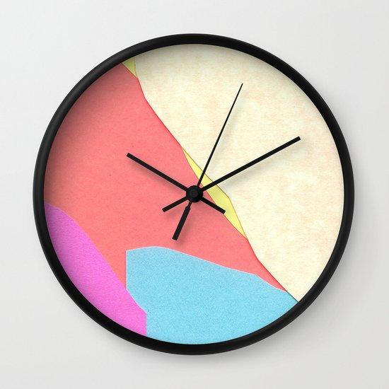 Land One  Wall Clock