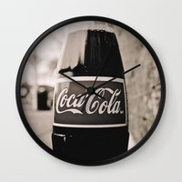 Coca-Cola closer Wall Clock