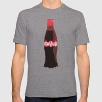 Coke-Man Mens Fitted Tee Tri-Grey SMALL