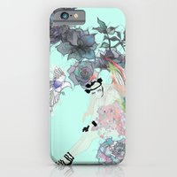 iPhone & iPod Case featuring Feather Girl. by LisaStannard