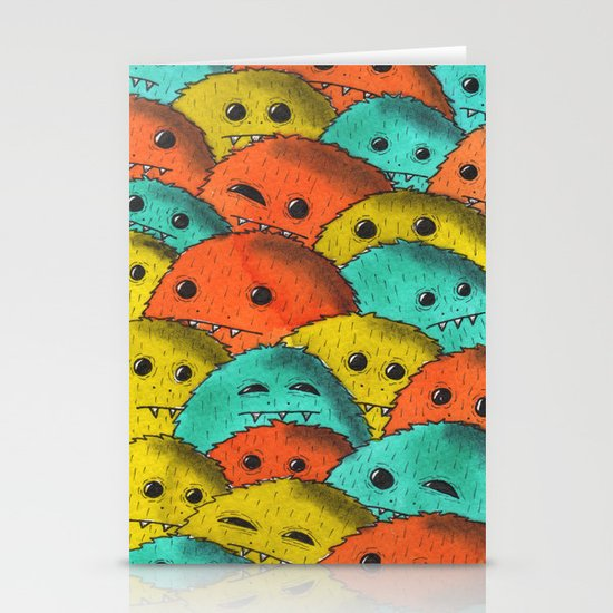 Furries Stationery Card