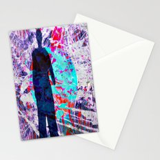 abstract shadow Stationery Cards