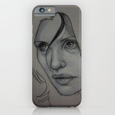 Charcoal experiment #3 iPhone 6 Slim Case