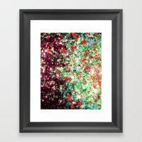 MISTLETOE NEBULA Colorfu… Framed Art Print