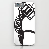 iPhone & iPod Case featuring Telepuss by Jentfah