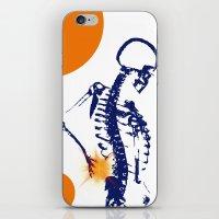 The Pain iPhone & iPod Skin