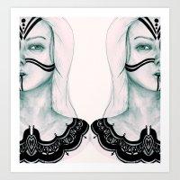 Sisters VI Art Print