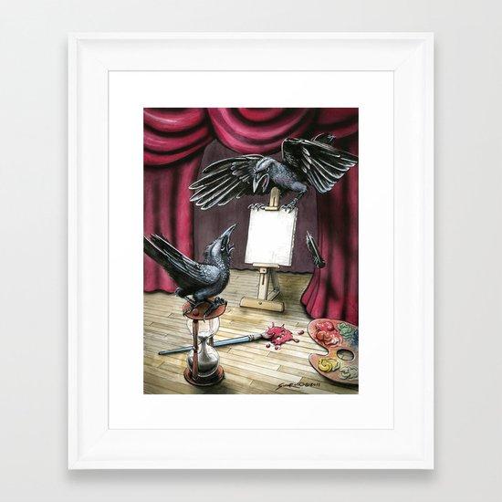 The Stalemate  Framed Art Print