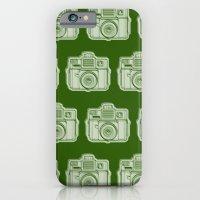 I Still Shoot Film Holga Logo - Reversed Green iPhone 6 Slim Case