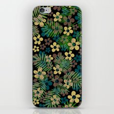 Floral. Flower pattern. iPhone & iPod Skin