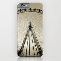 iPhone & iPod Case featuring London Eye by Silvia Giacoletto