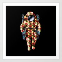 Deep Space Fashion Art Print