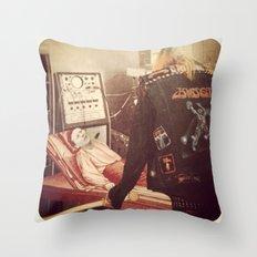 Corpse Distorter  Throw Pillow