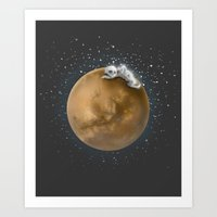Lost In A Space / Marspo… Art Print