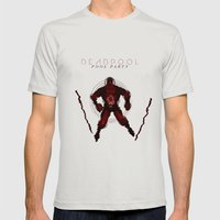 Deadpool - Pool Party Mens Fitted Tee Silver SMALL